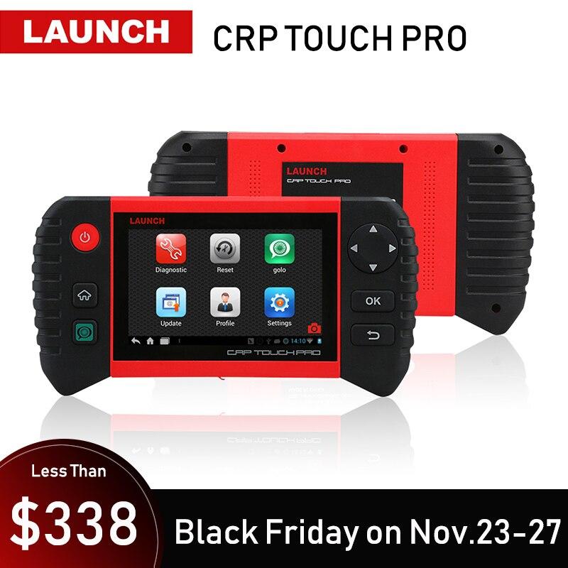 Запуск Creader CRP Touch Pro автомобильный диагностический инструмент все системы диагностики сканирующие инструменты Автосканер Авто масло скане...