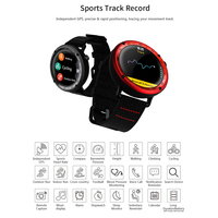 Sport Smart Watch GPS Real time Heart Rate Monitor Water Resistant Wearable Devices Fitness Tracker Stopwatch Wristwatch Clock