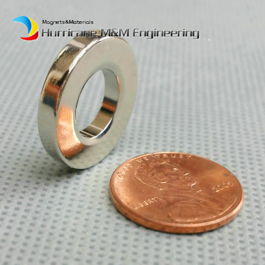 1 Pack NdFeB Magnet Grade N42 Ring OD 20x10x3.5 (+/-0.1)mm 0.79'' Round Strong Magnets Axially Magnetized Rare Earth Magnet 1 pack grade n38 ndfeb micro ring diameter od 9 5x4x0 95 mm 0 37 strong axially magnetized nicuni coated rare earth magnet