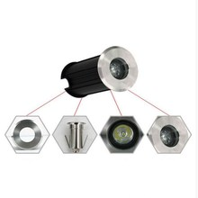 Wholesale price 3W IP68 CE RoHS AC85-265V/DC12V Recessed Lighting Outdoor Lamp LED Spot Floor Garden Yard LED Underground light direct selling 14w led underground lamp dc24v ip68 waterproof 2 years warranty ce rohs outdoor spotlight
