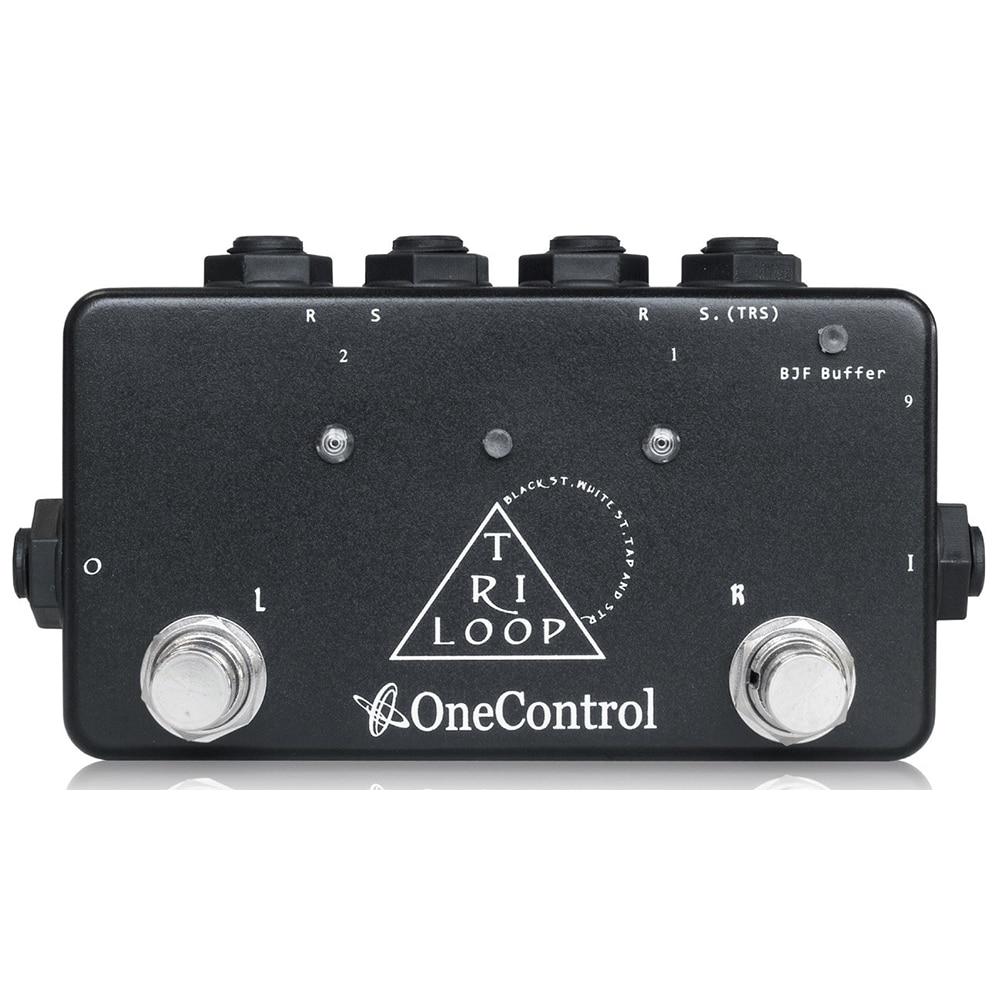 Japan One Control Tri-Loop Multi-Effect Pedal Switcher free shipping phrase loop core loop pedal block effect drum machine circular pedal