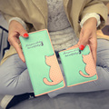 Pu Women Long Wallet Casual Character Hasp Purse SweetLovely Clutch Bag Fashion Wristlet Preppy Style Billfold For Teenage