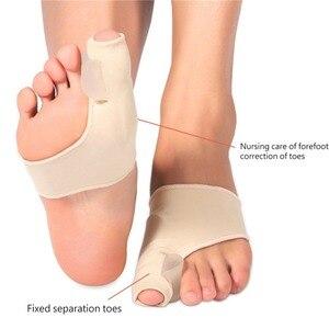 Image 3 - Corrector Hallux Valgus, separador de dedos, férula metatarsiana, ortesis, alivia el dolor, herramienta para el cuidado de los pies, 8 unidades