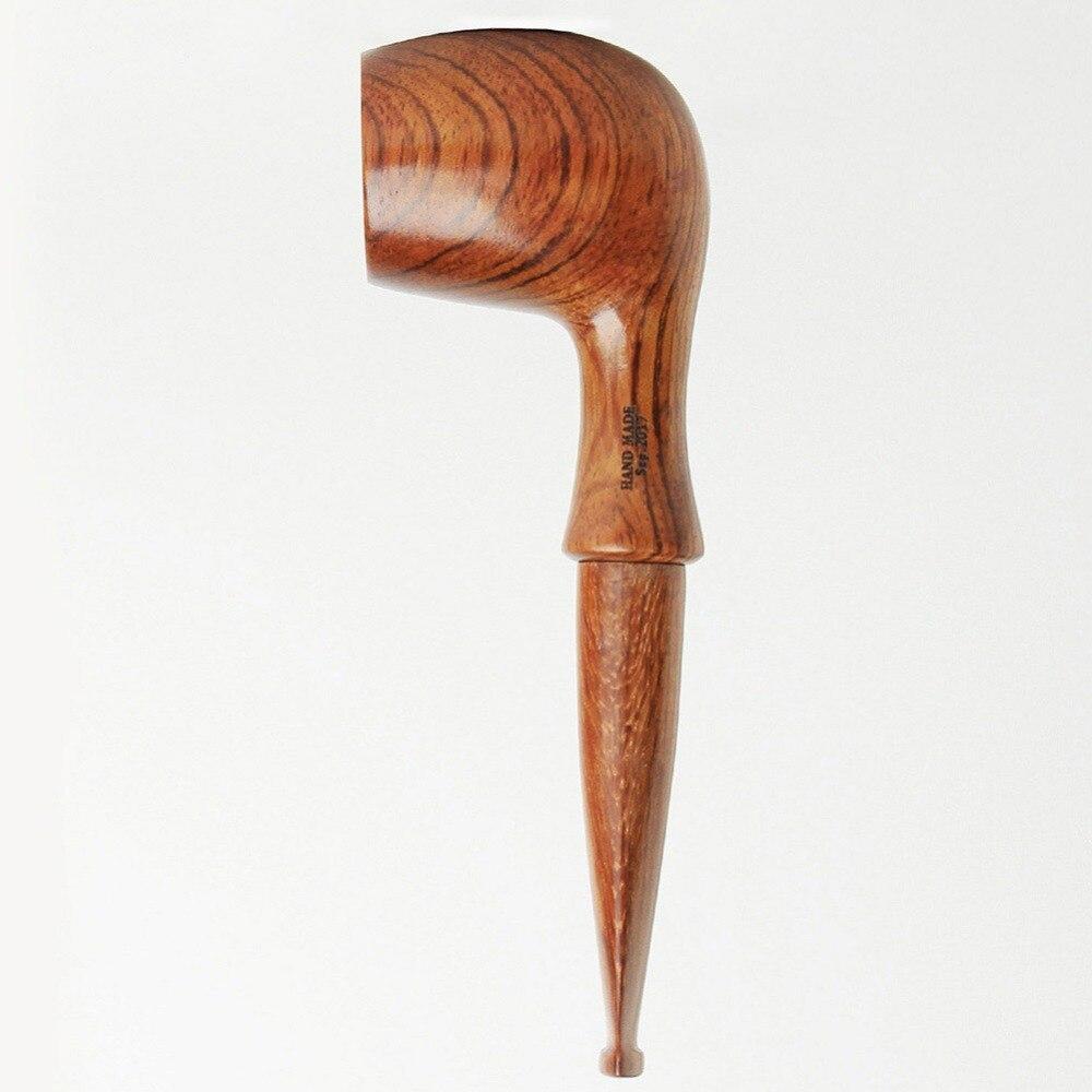 Main Tabac Tuyaux + Pipe En Bois Stand + 10 Tabac à Pipe Accessoires-3 dans 1 Couteau Filtres Écran Boule liège Knoker ad0001-A