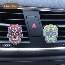 Car Air Conditioner Freshener Cute Cartoon Alec Skull Perfum
