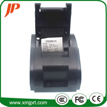 Envío gratis negro Puerto USB 58mm impresora térmica de Recibos pirnter POS de poco ruido impresora térmica