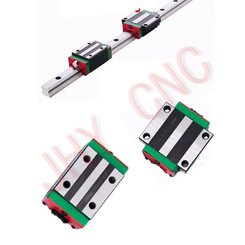 Guide rail profile Bearing Pillows Linear Actuator Parts HGW15-850mm QUALITY CONTROL CNC Guide rail profile Bearing Pillows Linear Actuator Parts HGW15-850mm QUALITY CONTROL CNC