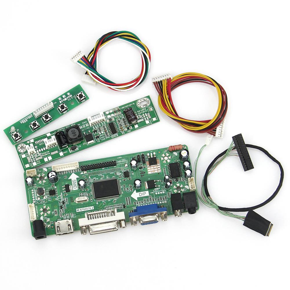 M.NT68676 LCD/LED Controller Driver Board(HDMI+VGA+DVI+Audio) For LP154WP4-TLA1 LTN154BT08-R03 1440x900 LVDS Monitor Reuse материнская плата asus h81m r c si h81 socket 1150 2xddr3 2xsata3 1xpci e16x 2xusb3 0 d sub dvi vga glan matx