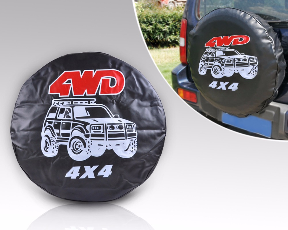 Dwcx Универсальный Автомобильный 4WD Спорт запасное колесо шин Мягкая обложка для Hyundai Kia VW Golf Nissan Chevrolet BMW P205 /60R16 65R16