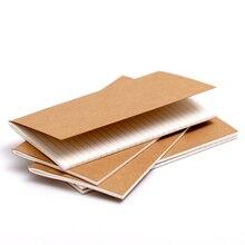 Винтажный блокнот для путешественника крафт-заправка внутренняя основная страница для винтажного блокнота для путешественников Доступно 3 размера 10 стилей