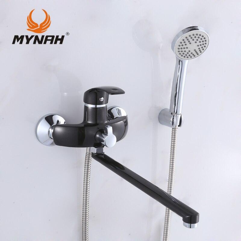 MAINÁ M2203I Rússia frete grátis torneira Do Banheiro misturador do banho de chuveiro torneiras Chuveiro sistema de rack Chuveiro com misturador Do Chuveiro Tropical
