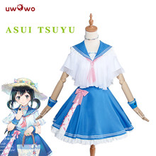 UWOWO Asui Tsuyu Cosplay Boku No Hero académique Cosplay Anime mon héros universitaire Costume Tsuyu Asui Doujin Version Costume femmes(China)