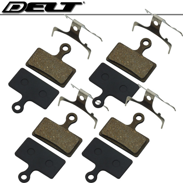 US $5 84 |4 pairs MTB bicycle disc brake pads FOR SHIMANO XTR M985 M988  Deore XT M785 SLX M666 M675 Deore M615 Alfine S700 R515 wholesale-in  Bicycle