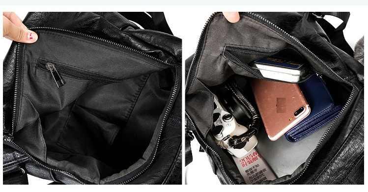 Venda quente nova mochila de couro genuíno feminina mochila escola moda luxo bolsa ombro juventude c398