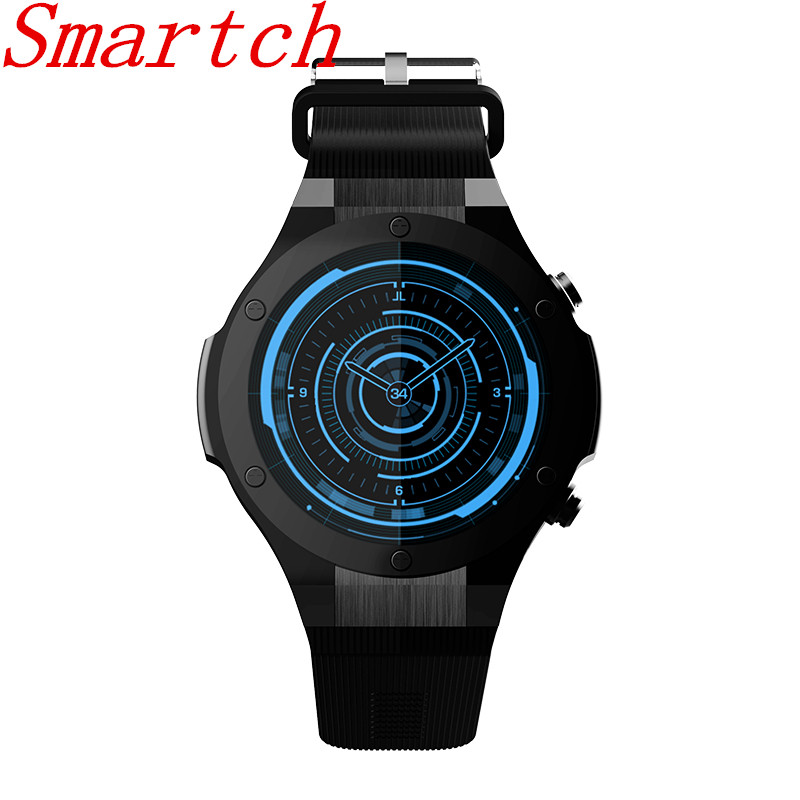 Smartch H2 Smart Watch MTK6580 1.40 inch 400*400 GPS Wifi 3G Heart Rate Monitor 16GB+1G For Android IOS PK KW88 h2 3g smart watch phone 1 3 android 5 0 mtk6580 16gb 5 0mp camera heart rate monitor pedometer gps smart watchs pk kw88
