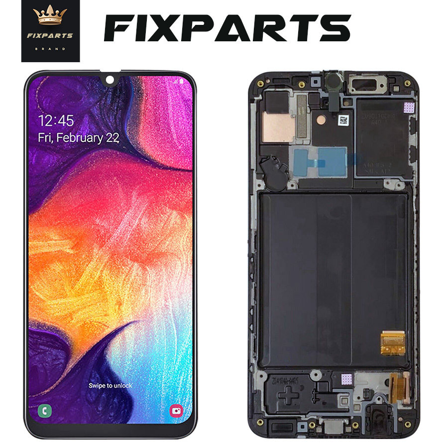 ORIGINAL SUPER AMOLED LCD for SAMSUNG Galaxy A40 A405 Display Touch Screen Digitizer Assembly A40 2019 A405F LCD For SAMSUNG A40