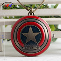 Captain America quartz pocket watches the Avengers Ironman watch jewelry table birthday gifts to children around ZS013