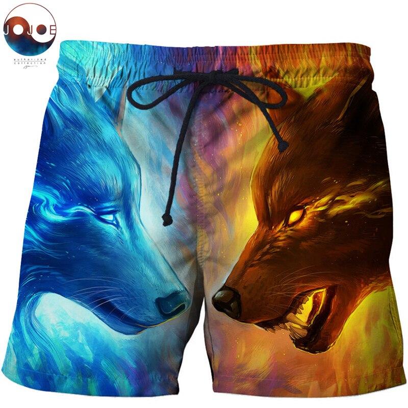 United 3d Anime Lion Beach Shorts Masculino Men Swimwear Funny Board Shorts Plage Quick Dry Shorts Streetwear Drop Ship Zootop Bear Lights & Lighting
