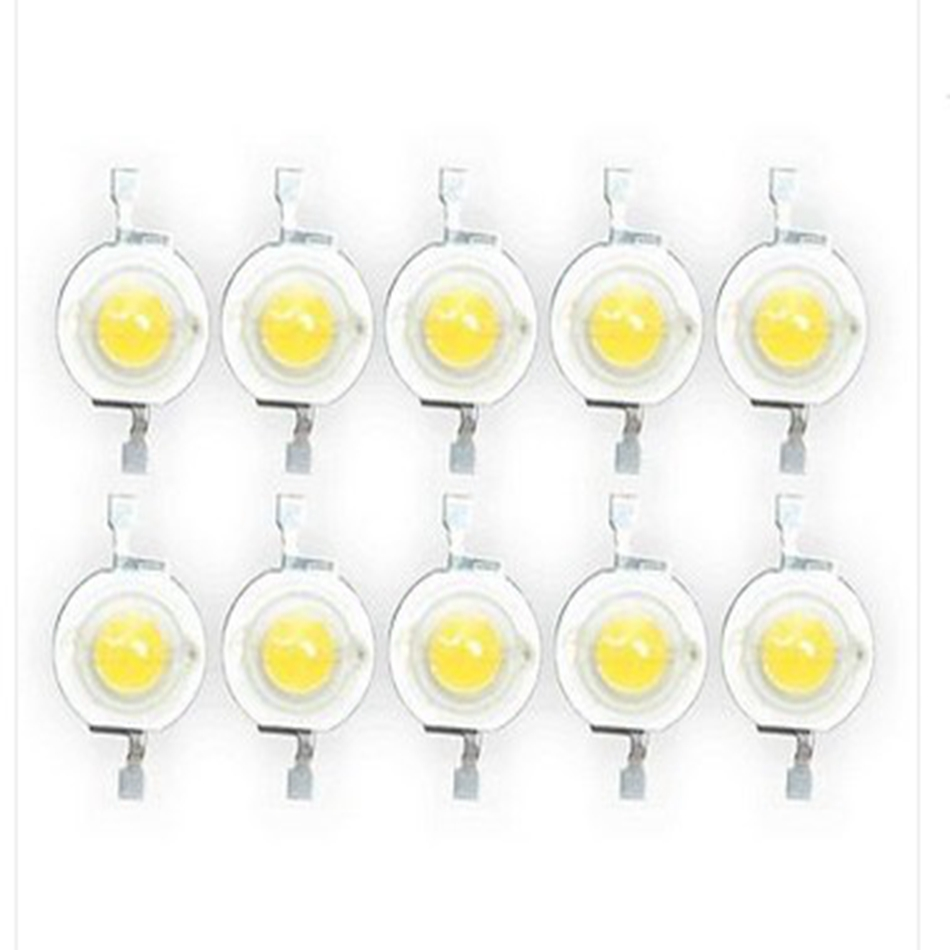 Wholesale 50Pcs Real enough Spot light Downlight Bulb High Power LED lamp Beads LEDs Diodes Bulb Chip SMD Lamp Light