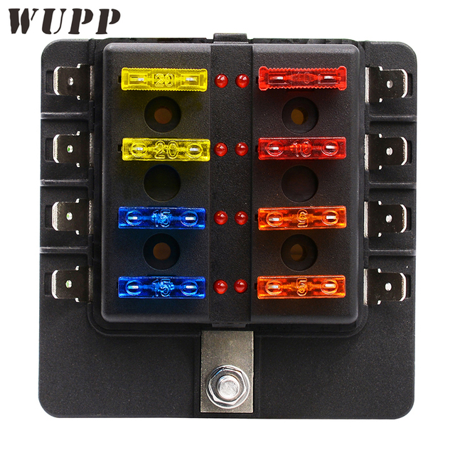 newest 1 in 8 out fuse box holder circuit car blade fuse box block Fuse Block Marine Applications and newest 1 in 8 out fuse box holder circuit car blade fuse box block holder 32v at Fuse Types of Blocks