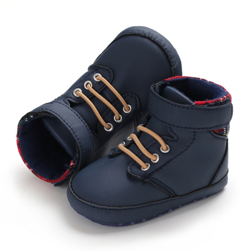 Pu Leather Autumn 2019 Baby Shoes First Walkers Baby Shoes Cotton Sole Infrant Toddler Baby Boy Shoes For 0-18 M
