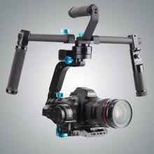 Professional new 2kg load capacity SK02 3-Axis Gimbal Stabilizer Handheld Gimbal Dual handle For DSLR Cameras digital camera