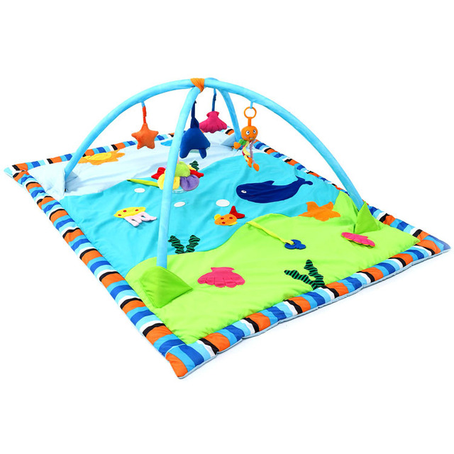 New Educational Baby Play Mat tortoise Cartoon Toys Infant Floor Blanket  Gym Mats Kids Rug Activity Climbing Carpet PS40-3