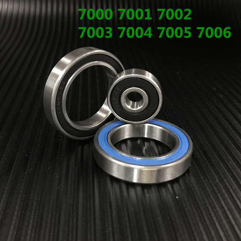Diameter Angular Contact Hybrid Ceramic Bearings 7000 7001 7002 7003 7004 7005 7006 C/p2 Contact Angle 15,abec-9 Machine Tool 12mm diameter angular contact ball bearings 7001 c p2 12mmx28mmx8mm contact angle 15 abec 9 machine tool