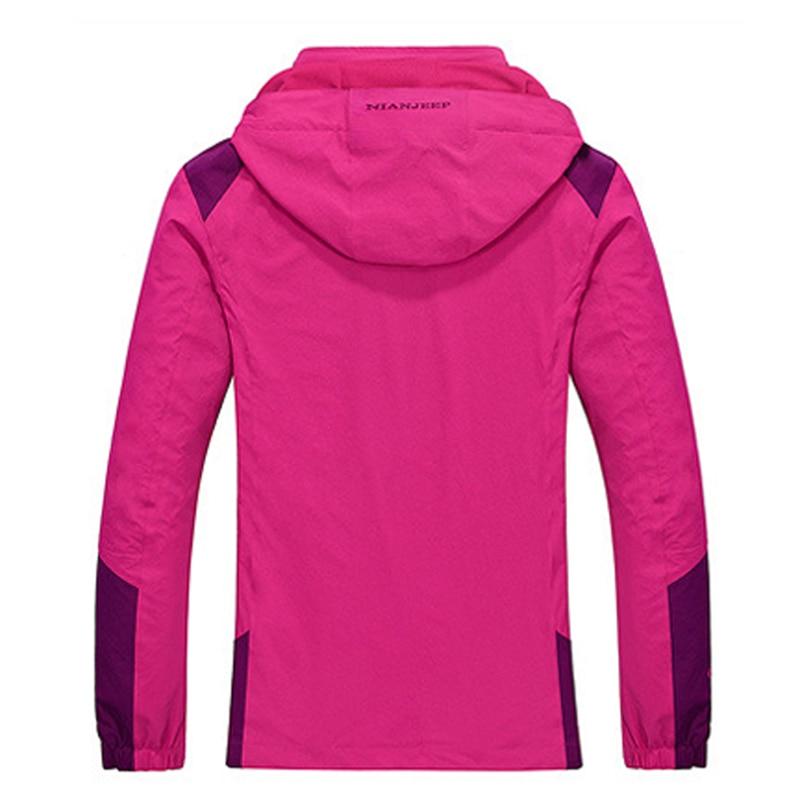 Hiking Jacket Women Sports Breathable Climbing Coat Windproof ...