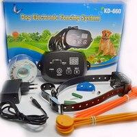 High Quality Pets Dog Electric Fence System Dog Pet Training Fencing Dog Trainer EU UK US