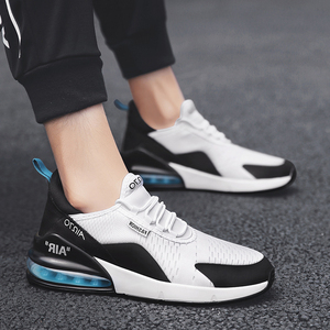 Image 2 - Cork Casual Shoes Men Sneakers Breathable Men Trainer Sneakers Air Cushion Sport Shoes Zapatillas Hombre Deportiva 270 Air Cushi