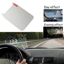 Дисплей на голову защитный отражающий экран превышение скорости дисплей Авто аксессуары для автомобиля Стайлинг автомобиля HUD светоотражающая пленка