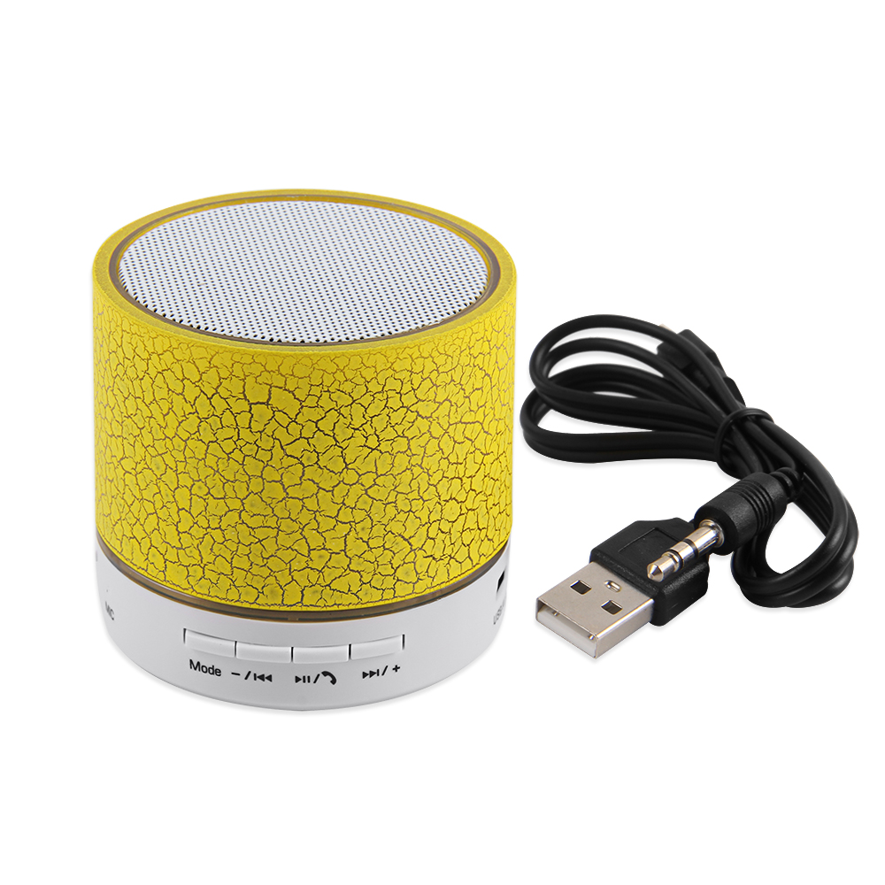 EASYIDEA Bluetooth speaker For Phone FM-Mode Wireless Portable speakers Musical Audio Subwoofer Loudspeakers With Mic TF USB portable mini led bluetooth speakers wireless small music audio tf usb fm light stereo sound speaker for phone xiaomi with mic