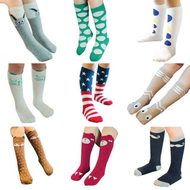 b10cd6cc7 3 Pair Unisex Lovely Cute Cartoon Fox Kids Baby Socks Knee Girl Boy Baby  Toddler Socks Animal Infant Soft Cotton Socks 0-6 Y