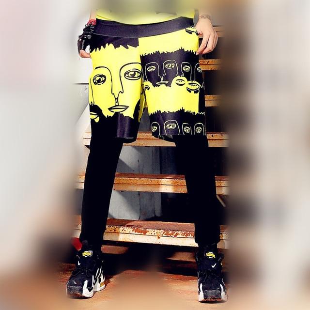 just.be.never woman hip hop hippie harem pants women trousers hawaii harajuku  graphic 366fc4acf619