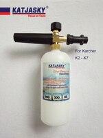 100pcs Lot Car Washer Foam Lance With Karcher Connector Pressure Washer Snow Foam Gun Washing Liquid