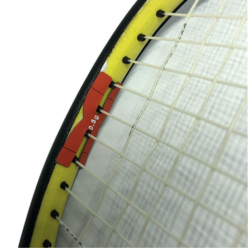 Badminton Accessories Badminton Racket Weighting Film Badminton Balance Piece H Type Silicone Head Balancer