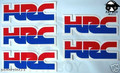 x5 Free shipping motorcycle HRC decals stickers graphics CRF CR XR CBR NEW