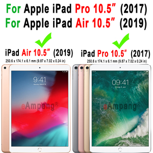 Image 5 - İngilizce İspanyolca rusça Bluetooth klavye kılıf Apple iPad hava 2019 3 3rd 10.5 A2152 A2153 A2123 Pro 10.5 A1701 a1709 kapak