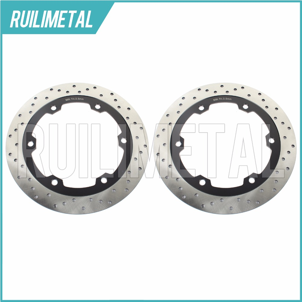 Full Set  Front Brake Discs Rotors for GPX 600 R  Warbird ZX 600 Ninja R 1988 1989 1990 1991 1992 1993 1994 1995 1996 motorcycle front rear brake pads for kawasaki gpx 600 r zx600 1988 1996 gpx 750 r zx750 1987 1989 zr750 1991 1995 zx100 zx10 p04
