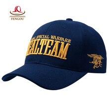 US Navy Seal Team Tactical Cap Outdoor Baseball for men