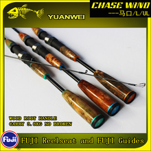 Yuanwei 1.98m 2.1m Spinning Rod UL/L 2Section Carbon Vara De Pescar Carpe Fish Pole Canne a Peche Stand Lure A057