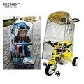 Детская коляска  дождевик для детей  три колеса  корзина  дождевик для детей  трехколесный велосипед  дождевик  защита от дождя  чехол