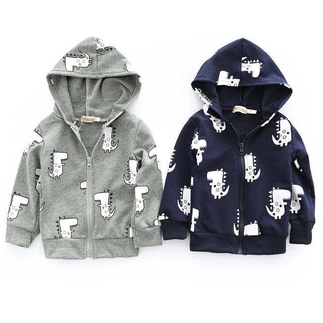 c079d705f children s winter jackets Baby Boys Girls clothes Cartoon Dinosaur ...