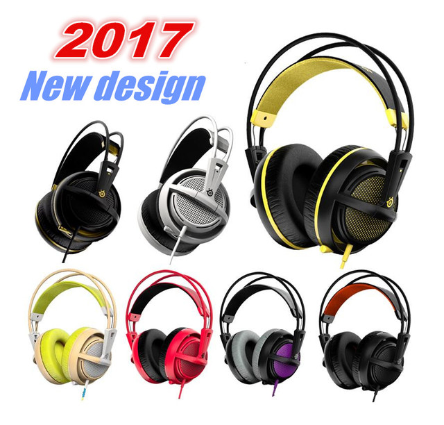 f4472edc20e SteelSeries Siberia 200 Full-Size Gaming Headphone With Microphone For PC,  Mac,Tablets, and Phones PRO Gaming Headset V2 upgrade