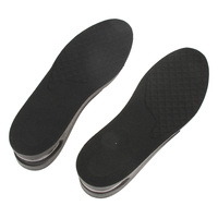 1 Pair Men Women Full Length Hight Increase Insoles Invisible Hight Increasing Insole Breathable Shoes Insert