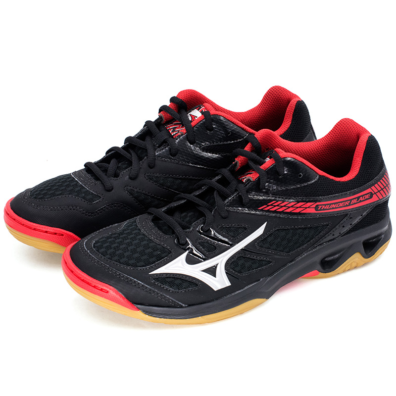 Original MIZUNO THUNDER BLADE Volleyball Shoes for men women Cushion Sports  Shoes Breathable Stability Sneakers-in Volleyball Shoes from Sports ... 9fc9e81dcd9