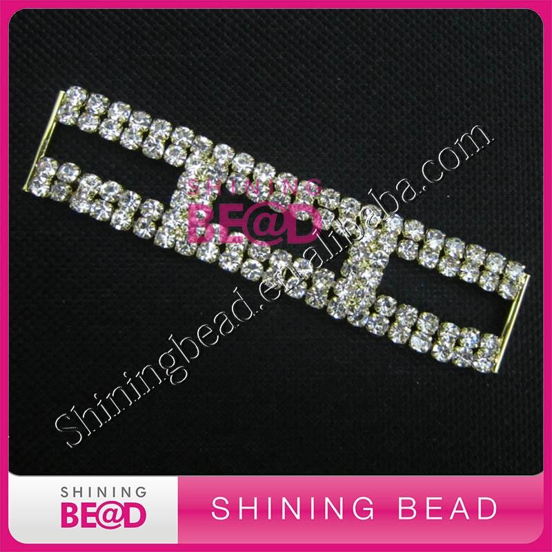 strass bikini connector, gratis verzending, kristal connector voor - Kunsten, ambachten en naaien