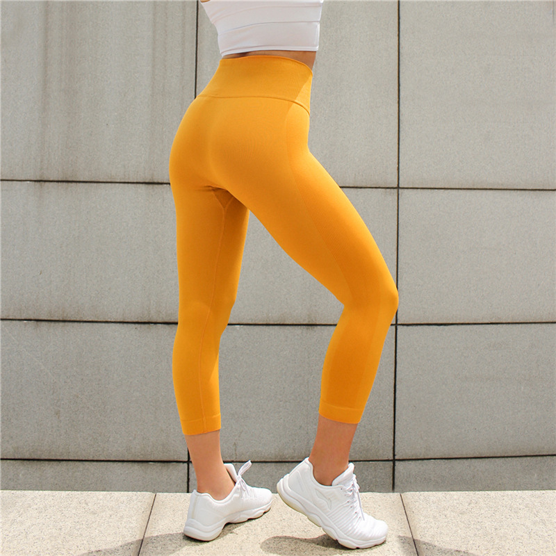 cc64ac60dd198 2018 Sexy Women Sport Yoga Pants Sexy Push Up Gym Sport Leggings Women  Running Tights Skinny Joggers Pants Compression Gym Pants-in Yoga Pants  from Sports ...