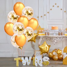 Confetti Balloons & Happy Birthday Banner